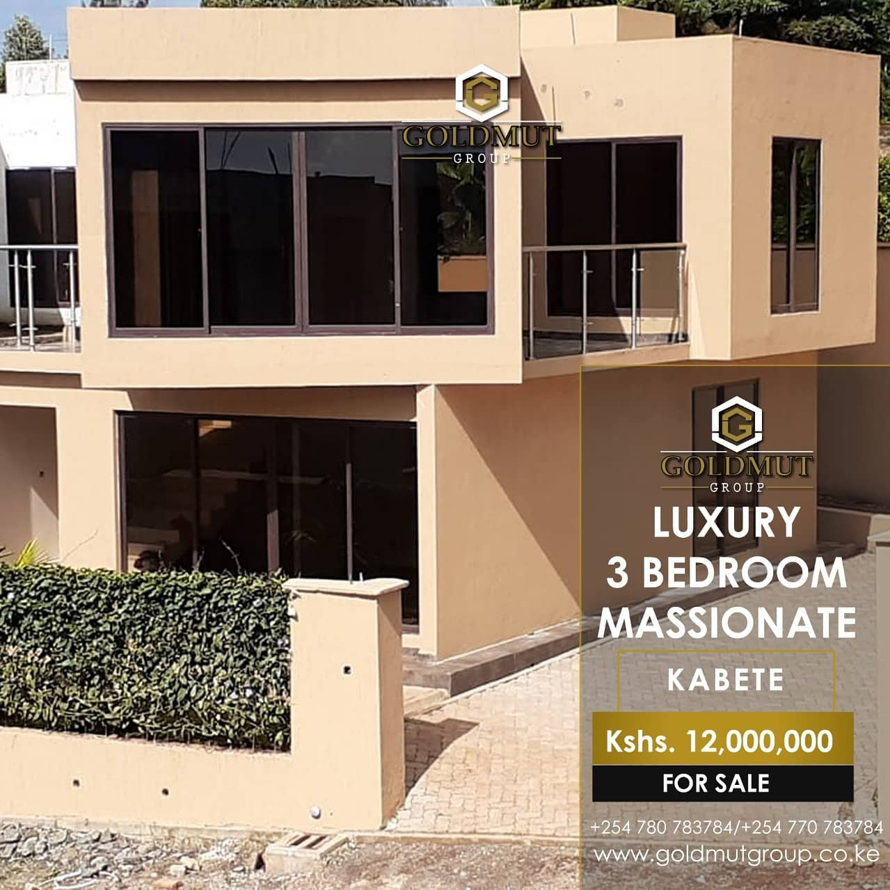 3 BEDROOM MASSIONATE – KABETE