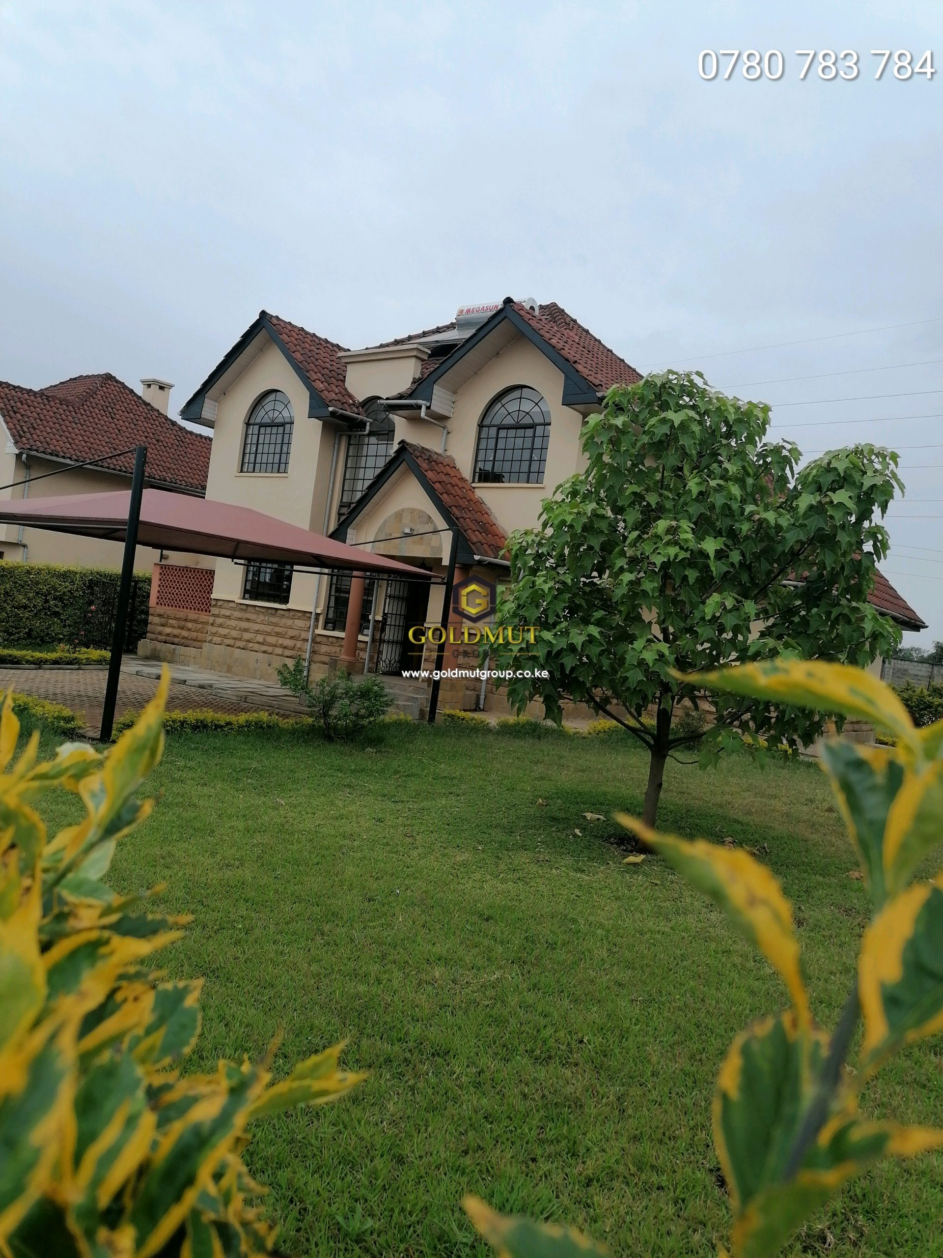 4 BEDROOM WITH DSQ FOR SALE IN REDHILL KIAMBU SITTED ON 1/4 ACRE